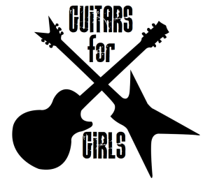 guitars for girls logo